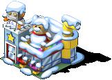 Toy Store snow