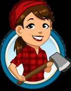 Citysam lumberjack bust