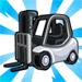 White Forklift-viral