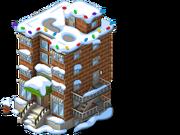 Apartment Complex snow