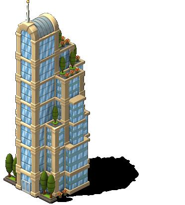 Stepped Skyscraper-SW