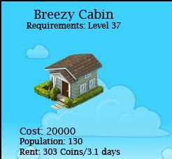 Breezy cabin