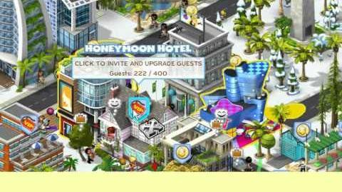 CityVille filling honeymoon hotel in 10 minutes