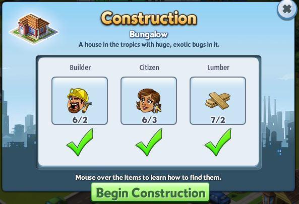 Bungalow Construction