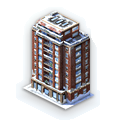 Winter Tower Block