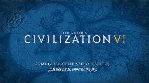 """Christopher Tin - Sogno di Volare (""""The Dream of Flight"""") (заглавная тема Civilization VI)"""