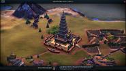 Храм Махабодхи Civ6