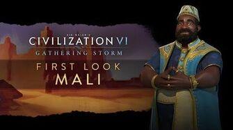 Civilization VI Gathering Storm - Мали. Первый взгляд (англ