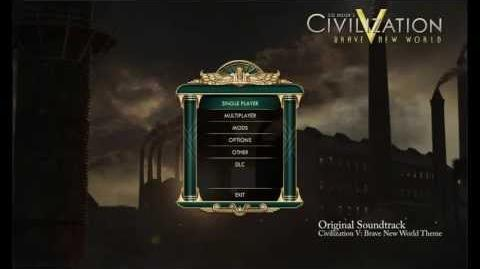 Civilization V Brave New World OST - Brave New World Theme (Opening Menu Music)