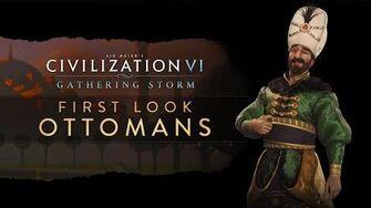 Civilization VI Gathering Storm - Османы. Первый взгляд (англ