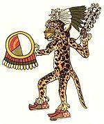 Ацтекский воин-ягуар