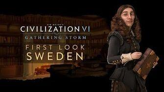 Civilization VI Gathering Storm - Швеция. Первый взгляд (англ