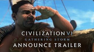 Civilization VI Gathering Storm Announce Trailer (NEW EXPANSION)