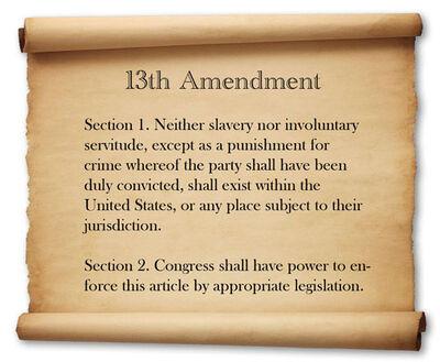 13th amend.