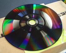 Exposed ced disk