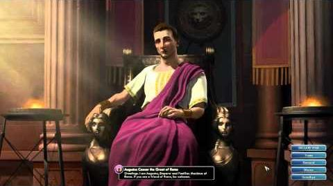 Civilization V OST - Augustus Caesar Peace Theme - Ancient Roman Melody Fragments