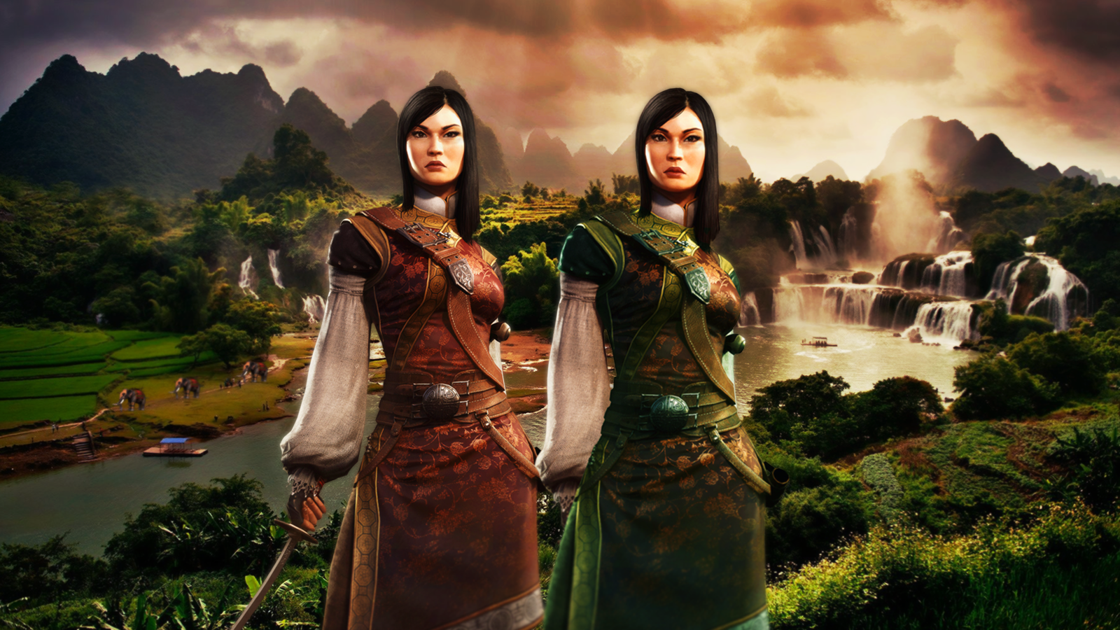 Vietnam (Trung Sisters) | Civilization V Customisation Wiki | FANDOM