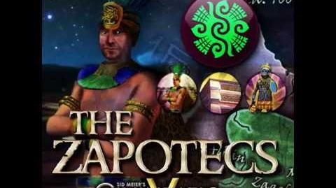 The Zapotecs - Cosijoeza War