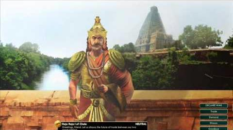 Chola - Raja Raja I - Peace