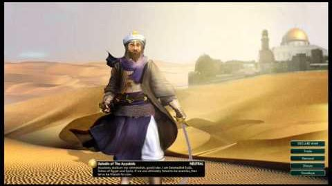 The Ayubids - Saladin Peace