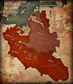 Map poland lithuania 2