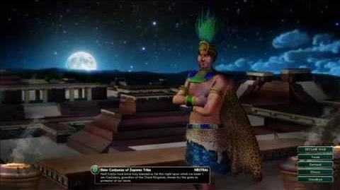 The Zapotecs -Cosijoeza Peace