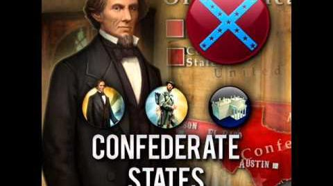 Confederate States - Jefferson Davis Peace