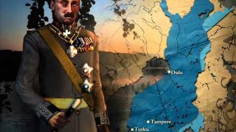 Finland - Mannerheim Peace