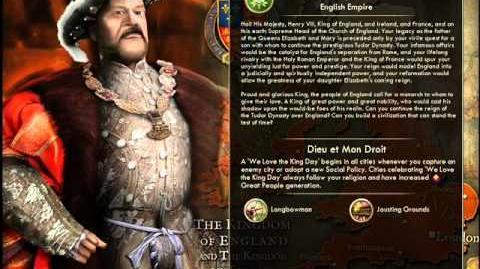 England - Henry VIII War