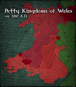 Urdnot Wales Map
