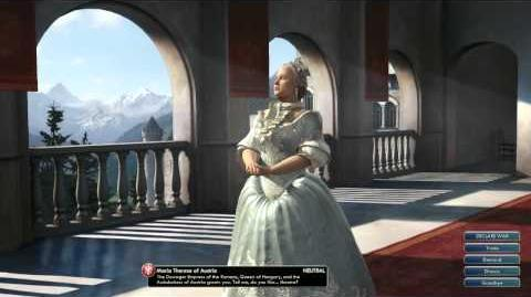 Civilization V OST Maria Theresa Peace Theme Requiem Mass in D minor, Still Still Still