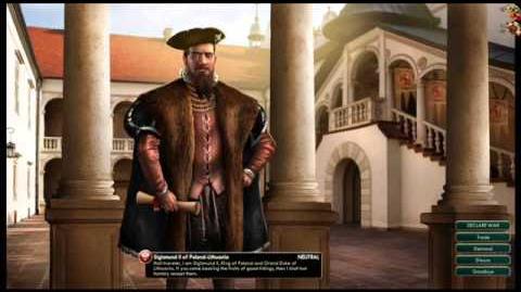 Poland-Lithunia Commonwealth - Sigismund II Peace