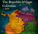 Gran Colombia (Simón Bolivar)