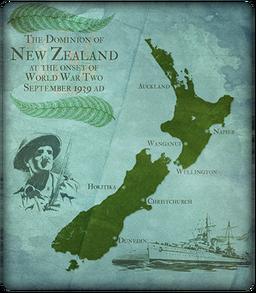 MC New Zealand Map