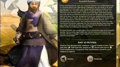 The Ayubids - Saladin War