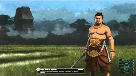 Civilization V OST - Gajah Mada Peace Theme - Udan Mas