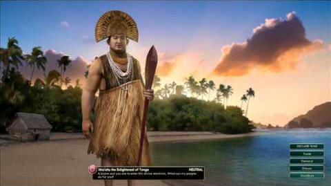 Tonga - Aho Eitu Peace