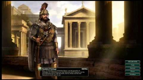 Carthage Empire - Hannibal Peace