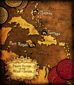Buccaneer Map