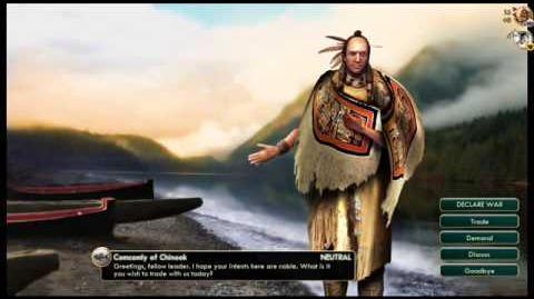 Chinook - Comcomly - Peace