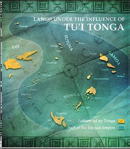 Map MC Tonga