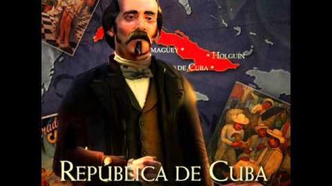 Cuba - Carlos Manuel de Céspedes War