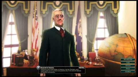 USA - Roosevelt Peace