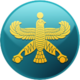 Cyrus Flag Blue