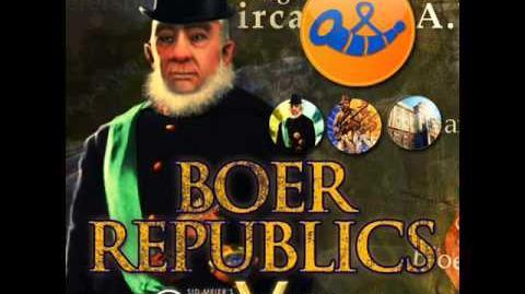 The Boers - Paul Krueger War