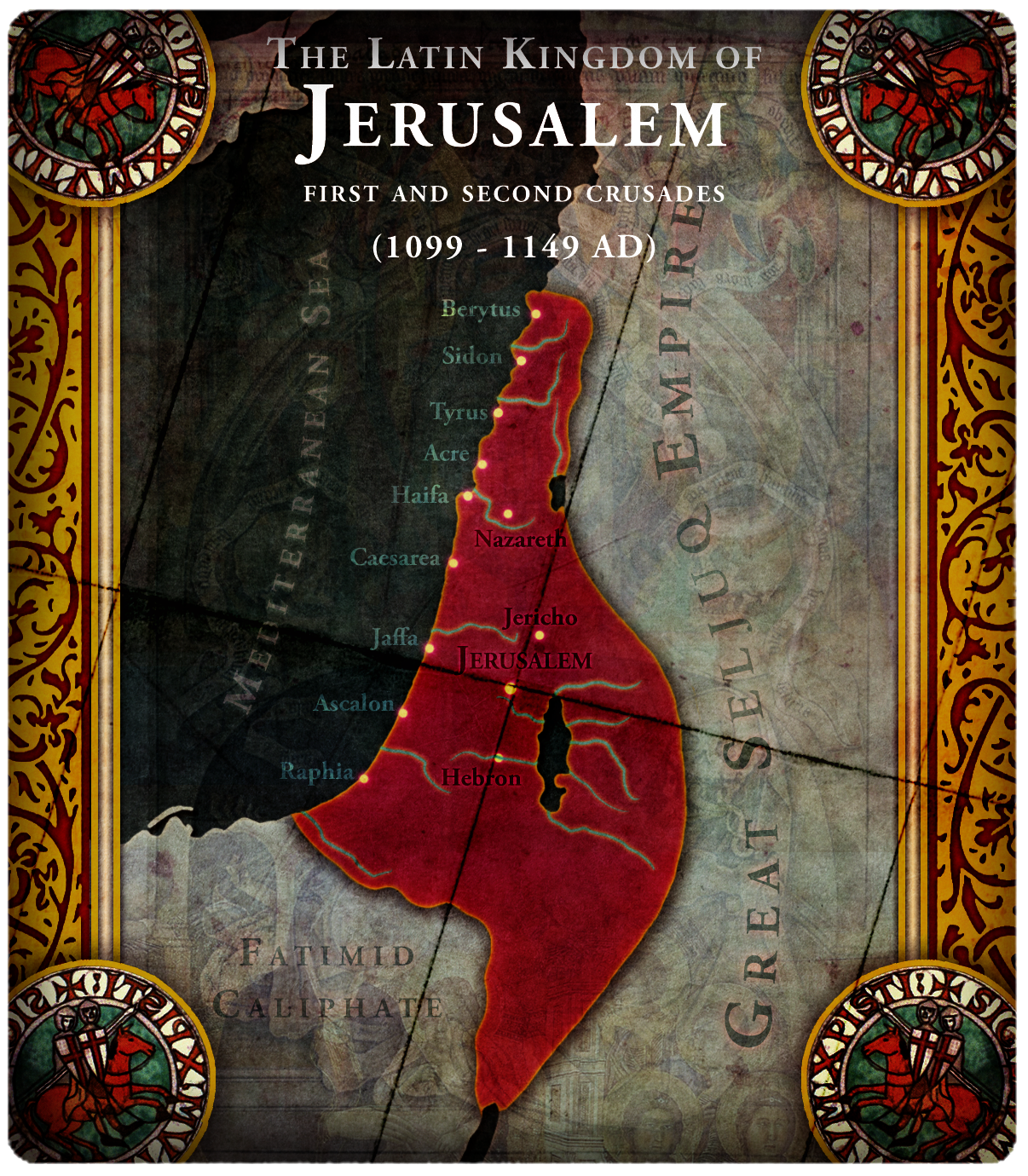 Jerusalem (Baldwin III)   Civilization V Customisation Wiki   FANDOM on beirut on map, islam on map, constantinople on map, damascus on map, rome on map, medina on map, london on map, israel map, aleppo on map, baghdad on map, amman on map, cairo on map, golan heights on map, alexandria on map, mecca on map, middle east on map, kabul on map, juba on map, gaza on map, tel aviv on map,