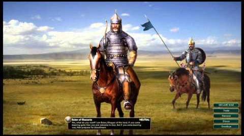 Khazar Empire - Bulan Peace