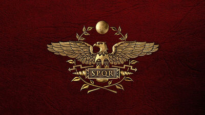 127782 emblem-the-symbol-of-rome-the-roman-empire-red-white-leather p