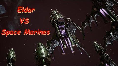 Eldar vs Space Marines! Rank 71, Heroic Difficulty, 1500 Points - Battlefleet Gothic Armada