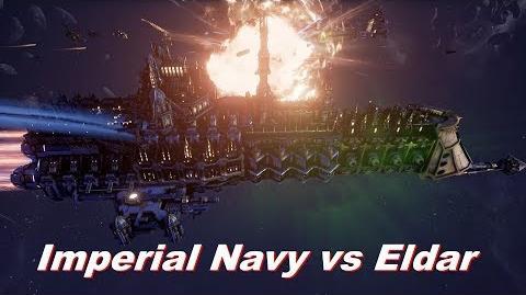 Imperial Navy vs Eldar! Rank 159, Heroic Difficulty, 1500 Points - Battlefleet Gothic Armada